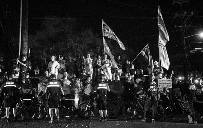 Kalaeloa Protest